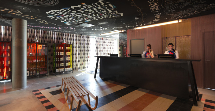 le blog de l 39 agence avantgarde design retail design et design de lieux ouverture de l 39 h tel. Black Bedroom Furniture Sets. Home Design Ideas