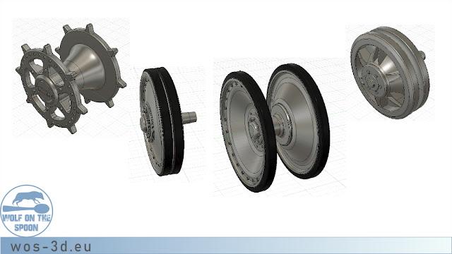 CAD Räder
