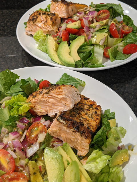 Salmon Avocado Salad