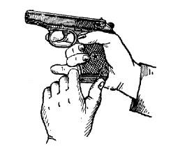 Неповне розбирання пістолета макарова