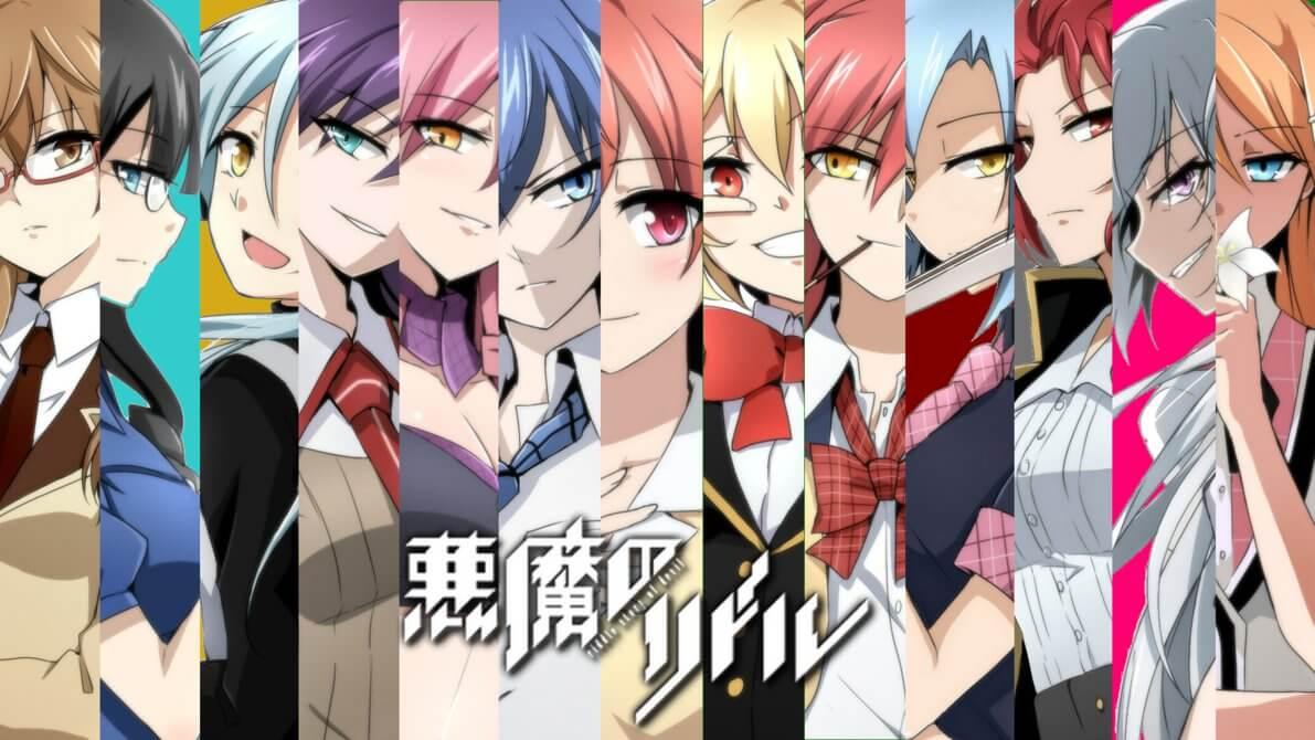 Akuma no Riddle [BD] + [OVA] Sub Indo : Episode 1-12 END