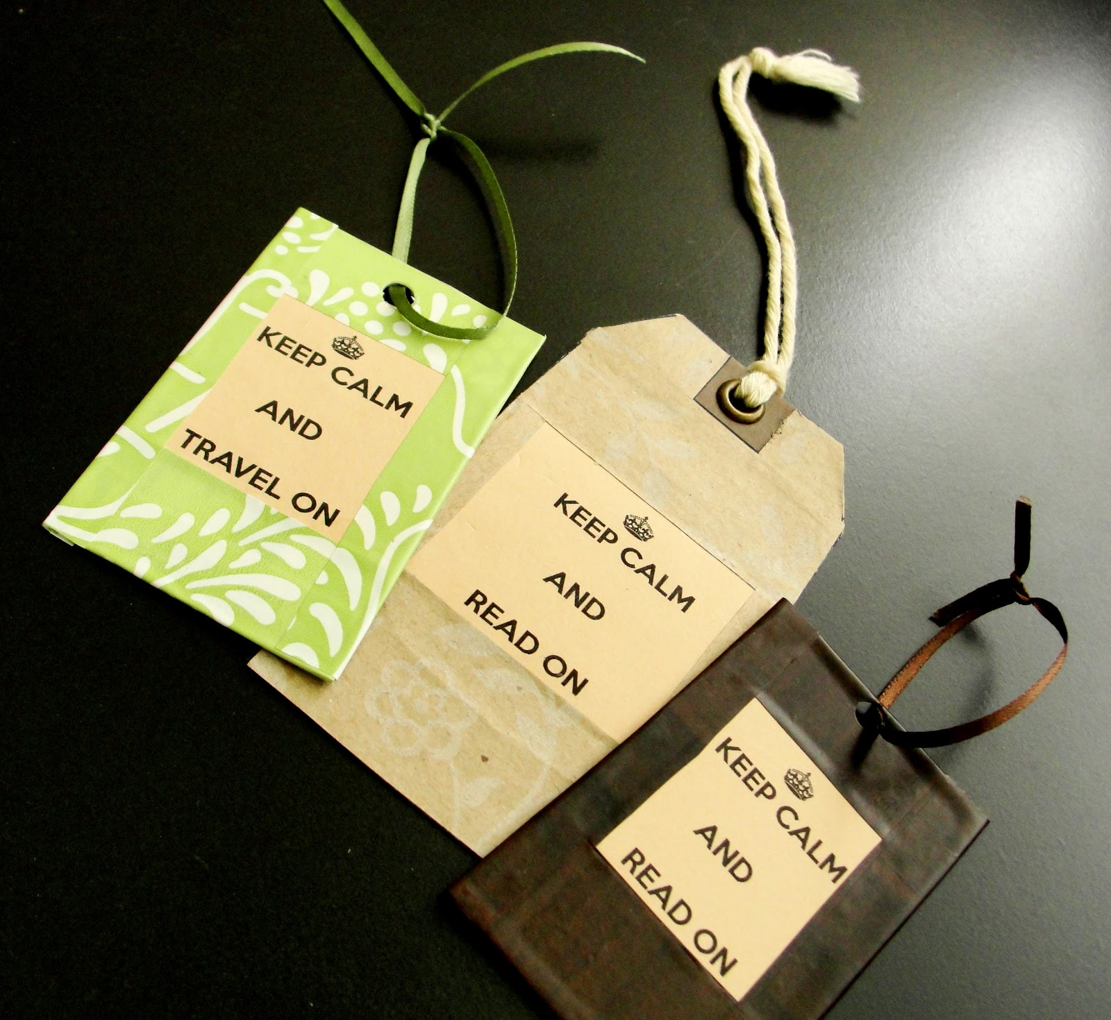 Simply Sowpar Diy Bookmarks From Upcycled Reused Credit Cards And Shirt Tags