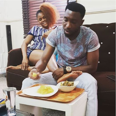 Singer Timi Dakolo Shares Fun Pic With Wife