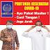 Partai UKM Usul Presiden Jokowi Belakukan PSBB Longgar, Agar Perekonomian dan Kehidupan Sosial Berjalan Normal