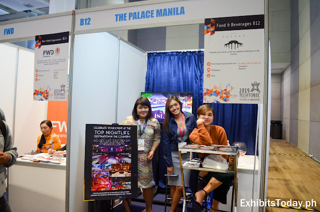 The Palace Manila Exhibit Booth