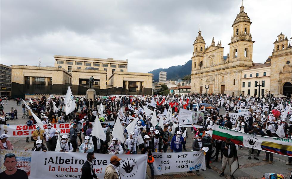 Farc pidió al Gobierno cumplir con acuerdo de paz