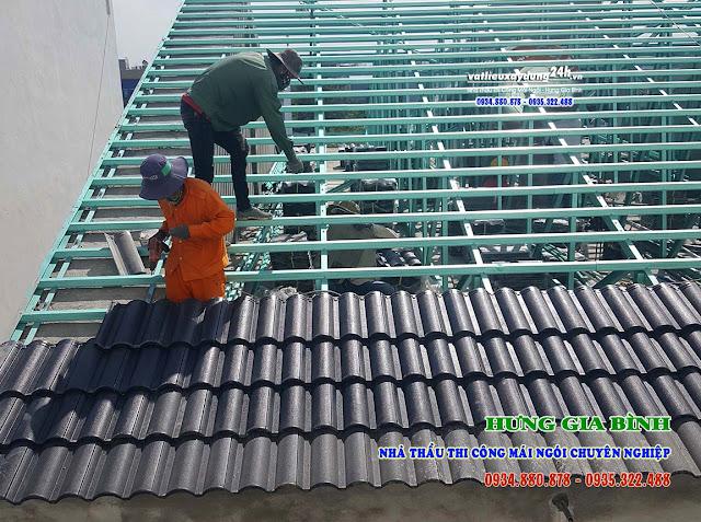 VLXD Hưng Gia Bình - Nhà thầu thi công mái ngói trọn gói chuyên nghiệp tại Đà Nẵng, Hội An, Quảng Nam