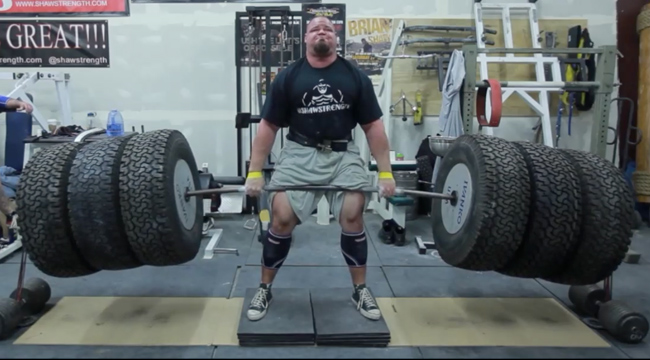 Brian Shaw World Strongest man Workout and Diet | Muscle world