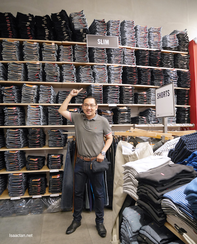 Isaac Tan Levi Jeans