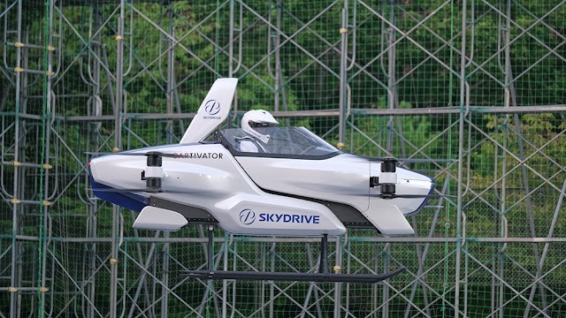 O carro voador da Skydrive