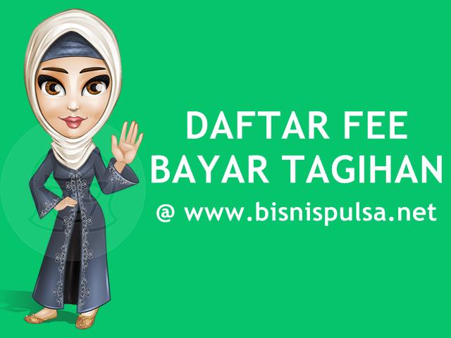 Daftar Fee Bayar Tagihan Online PPOB Terlengkap BisnisPulsa.net