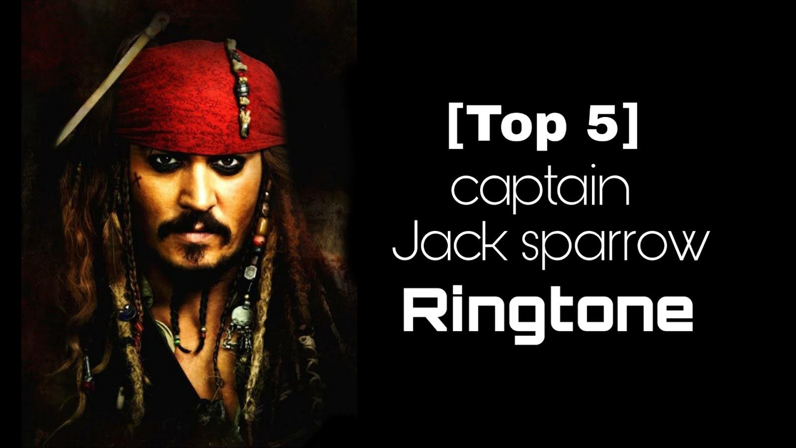 Top 5 pirates of the Caribbean Ringtone | Jack sparrow