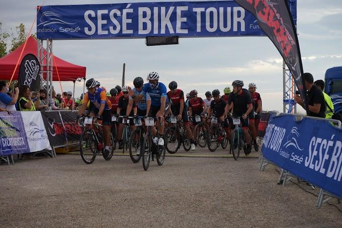 David Pérez fue el mejor clasificado en la III Sesé Bike Tour