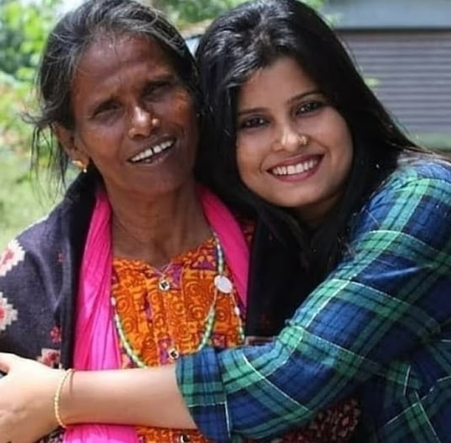 Daughter of Ranu Mandal