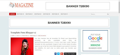 Magazine Blogger Templates 2019 Free Download