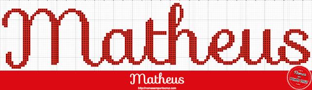 Nome Matheus em Ponto Cruz