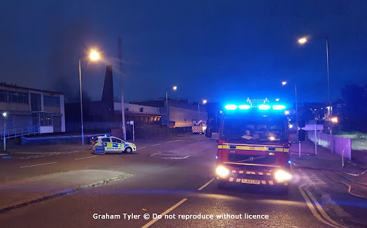 Warehouse fire contained by firefighters in Bradford overnight.