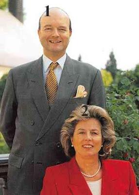 familles princières germaniques.