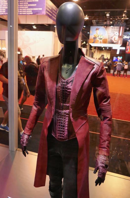 Elizabeth Olsen Avengers Scarlet Witch movie costume
