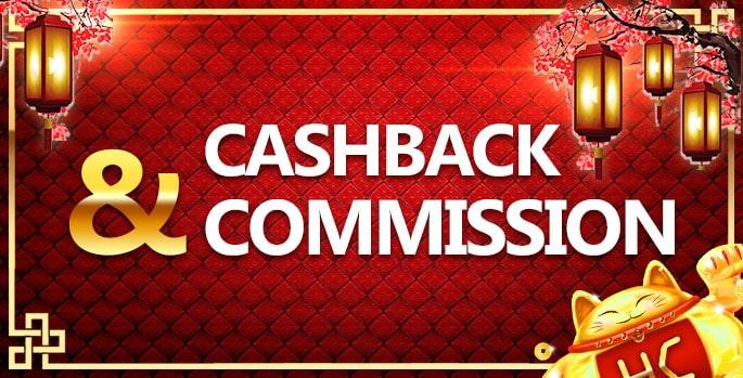 hokicash cashback dan commission