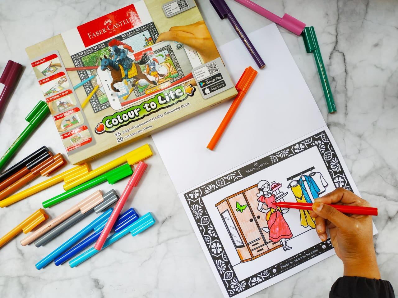 Penggalaman Mewarnai Menggunakan Faber Castell Colour to Life