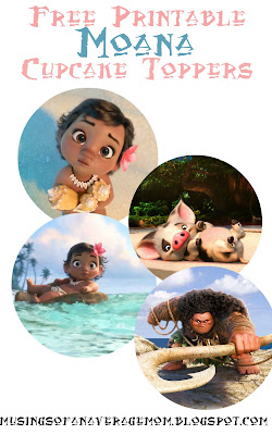 free Moana birthday printables