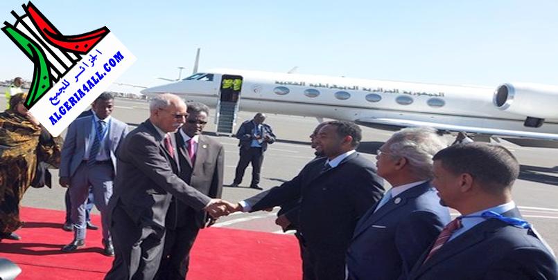 صور الرئيس الصحراوي ابراهيم غالي في اثيوبيا