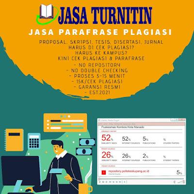 Jasa Plagiarisme Online Hanya 15rb Murah