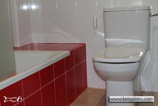 Pintar un cuarto de baño o una cocina