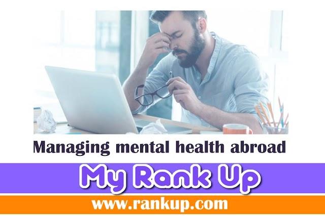 Managing mental health abroad