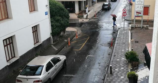 Ο καιρός Τρελάθηκε στην Τρίπολη - 40αρια με δυνατή βροχή