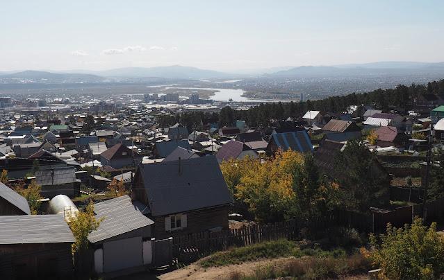Улан-Удэ, вид с Лысой горы