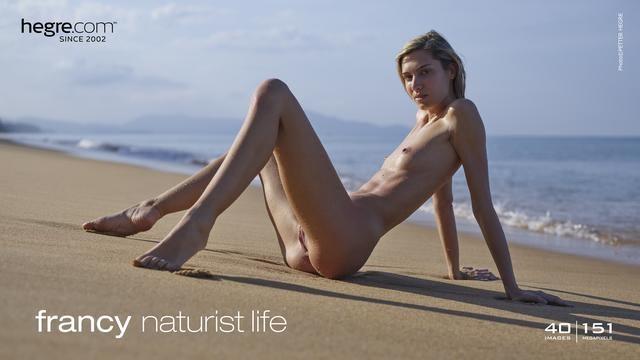 [Hegre-Art] Francy - Naturist Life