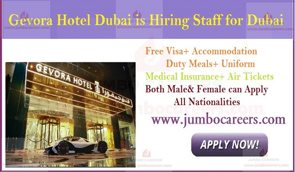 Available hotel jobs in Dubai, Latest job openings in Dubai, UAE,