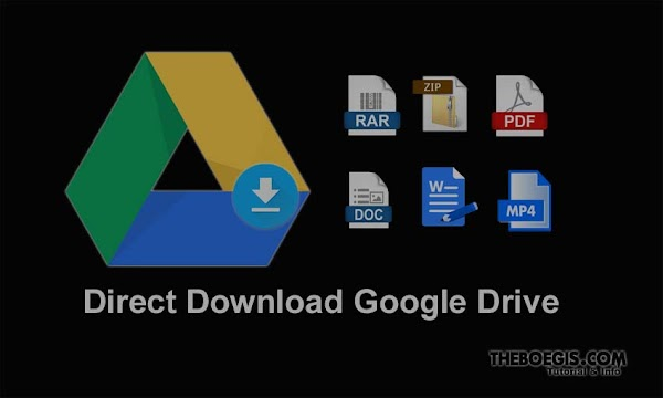 Tutorial on Making Direct Links Download Google Drive