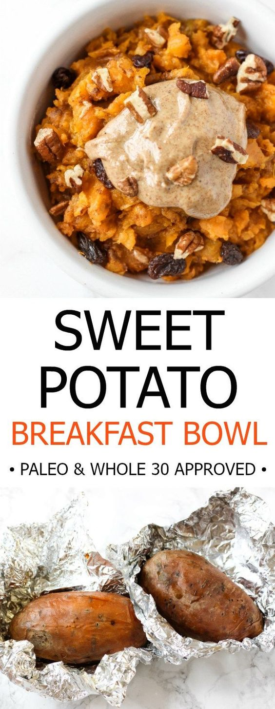 SWEET POTATO BREAKFAST BOWL #recipes #healthybreakfast #breakfastrecipes #healthybreakfastrecipes #food #foodporn #healthy #yummy #instafood #foodie #delicious #dinner #breakfast #dessert #lunch #vegan #cake #eatclean #homemade #diet #healthyfood #cleaneating #foodstagram