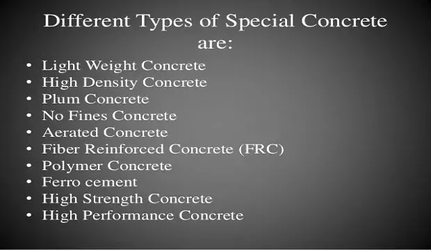 different-types-of-concrete