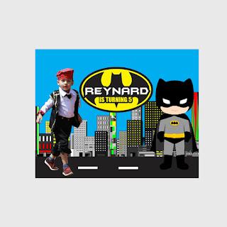 Banner Ulang Tahun Batman