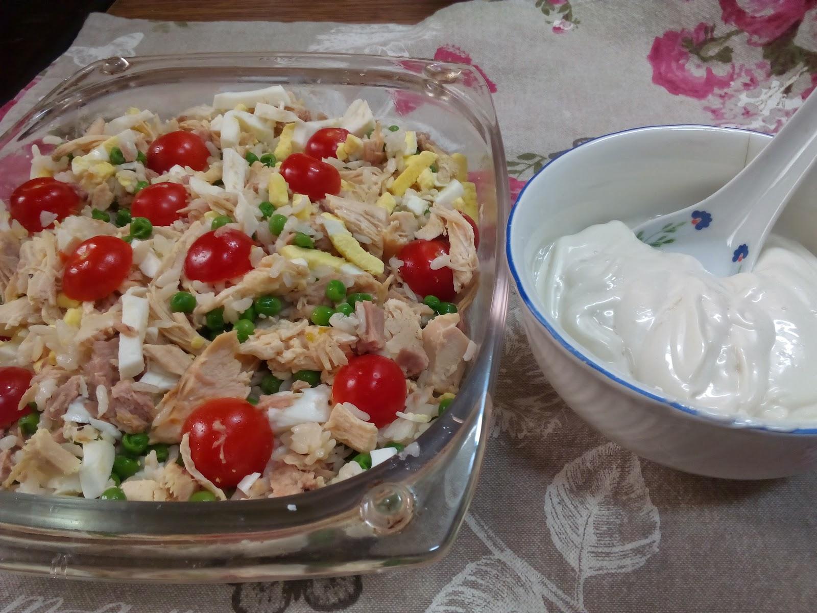 Todo sobre carmen ensalada de arroz con pollo asado at n - Ensalada de arroz y atun ...