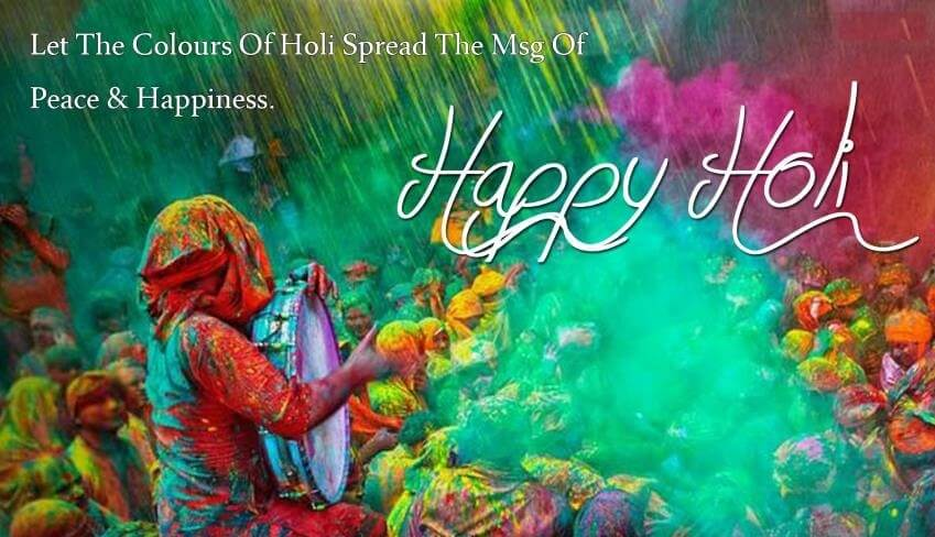Holi Status Quotes Wishes With Images