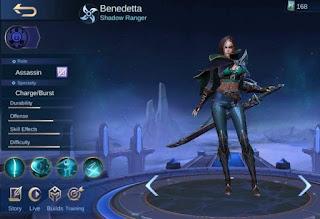 Benedetta, New Assassin's Mobile Legends