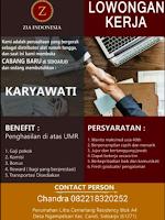 Loker Surabaya di Zia Indonesia Februari 2021