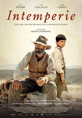 INTEMPERIE - poster de la película de Benito Zambrano