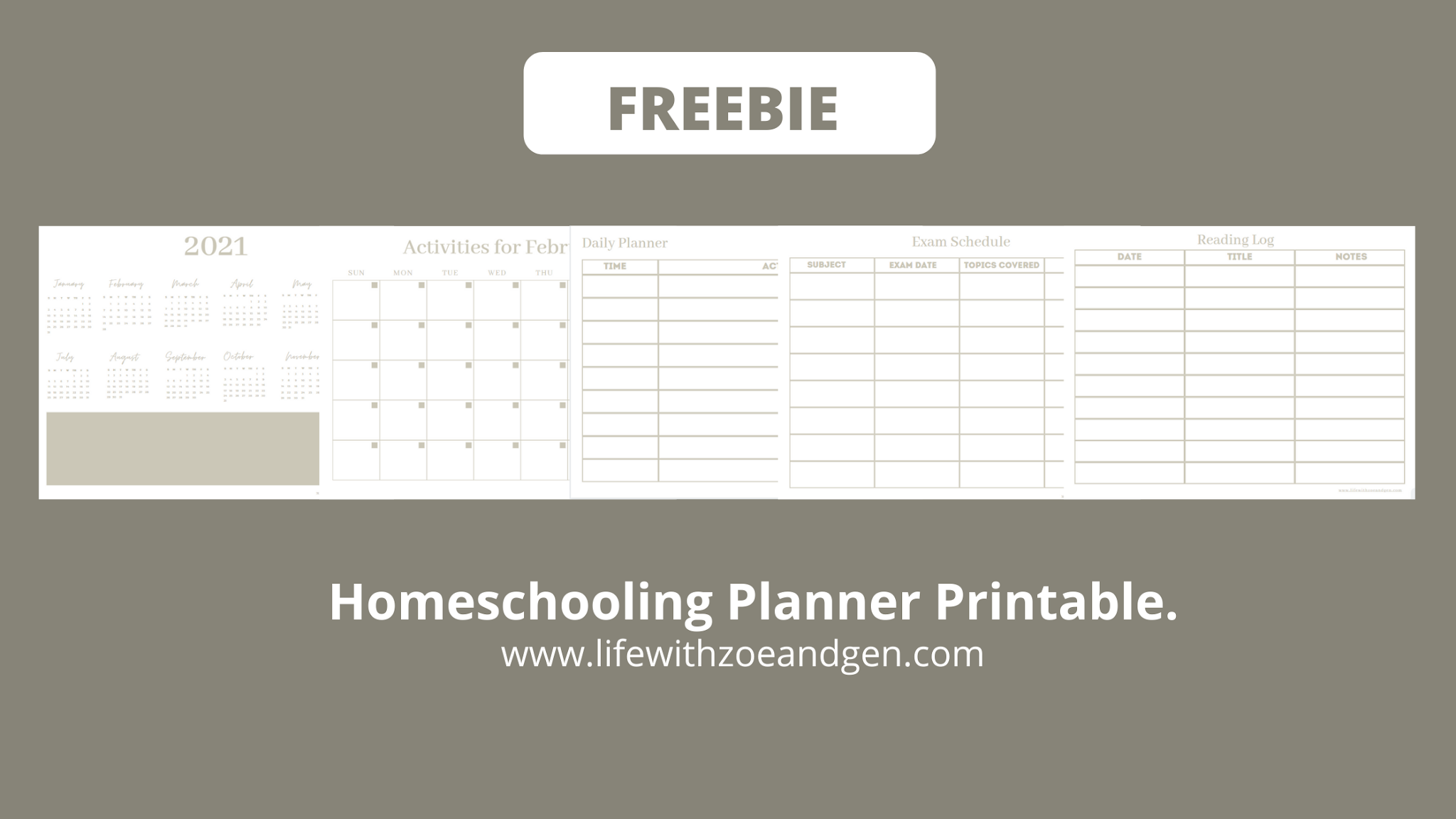 Free homeschooling planner printable that can help you plan through the year. Grab your copy now. Life with Zg l Homeschooling l Mommy Blogger PH