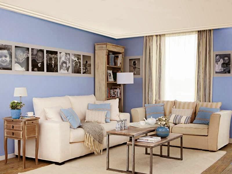 salón azul claro