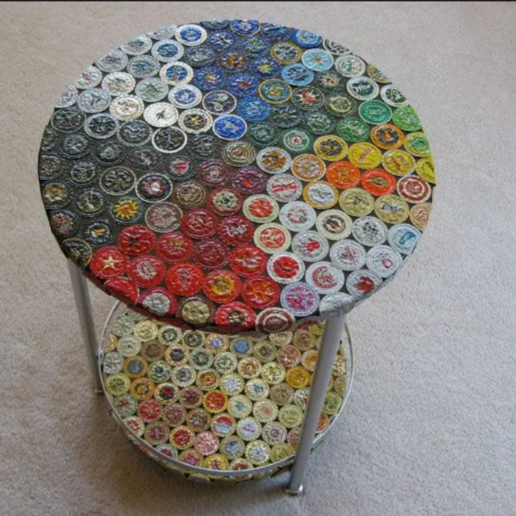 Do Not Throwaway Coca-Cola Metal Caps Again, See The Beautiful Things Made From It