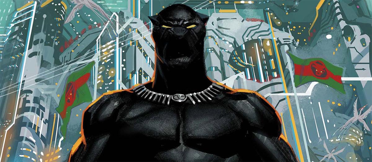 Quadrinhos do Pantera Negra são disponibilizados gratuitamente