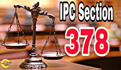 IPC Section 378 in Hindi