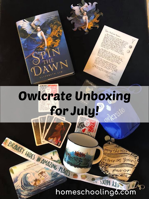 #owlcrate #spinthedawn