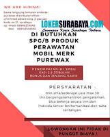 Karir Surabaya di Purewax Distributor Office Agustus 2020